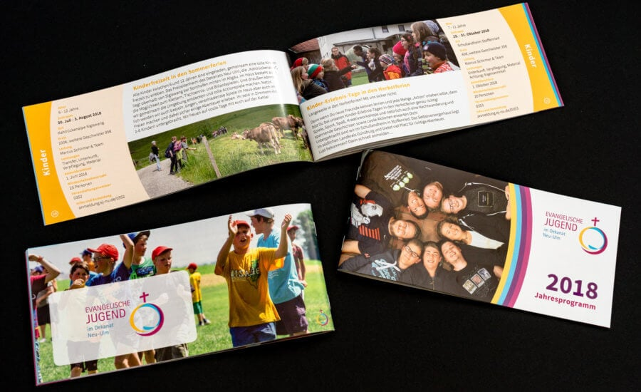 Jahresprogramm der Evangelischen Jugend