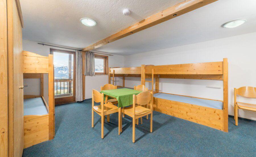 Zimmer- und Gruppenraumfotos Freizeitenhaus Kahlrückenalpe